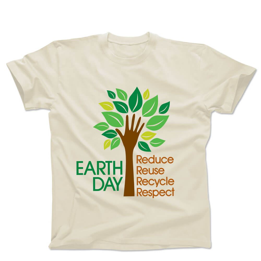 Earth Day: Reduce, Reuse, Recycle, Respect Cotton Youth T-Shirt