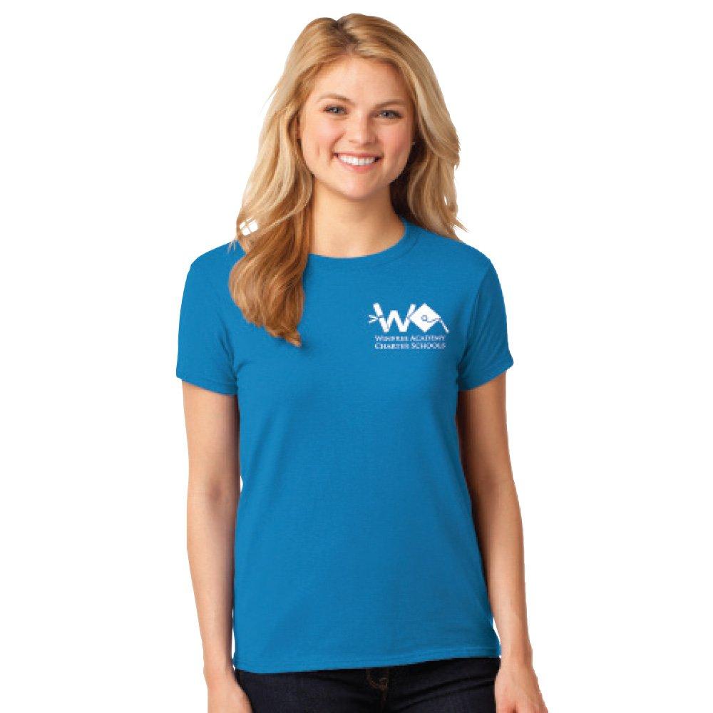 Gildan® Women's Heavy Cotton Short Sleeve T-Shirt: Premium Colors - Personalization Available