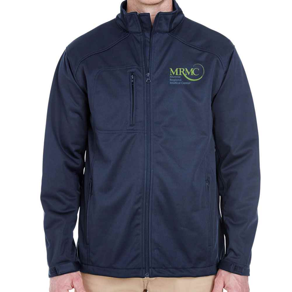 Soft Shell Jacket With Zippered Pockets - Personalization Available