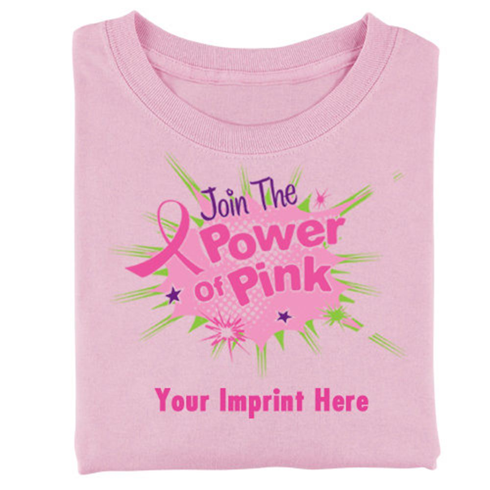Women's-Cut Breast Cancer Awareness T-Shirts - Personalization Available