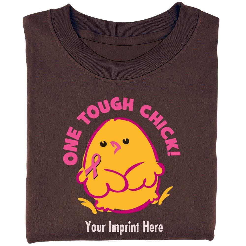 One Tough Chick Women's Cut Cotton T-Shirt - Personalization Available