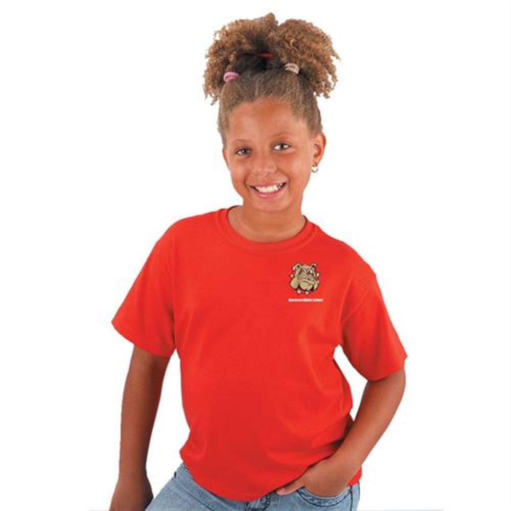 Youth Size Gildan® Dry-Blend Moisture Wicking T-Shirt - Personalization Available