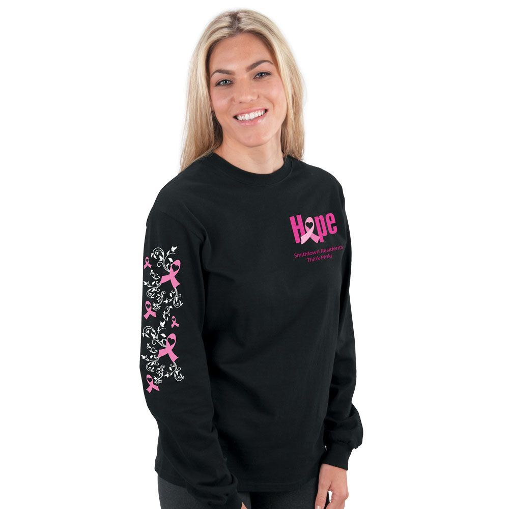 Hope Long-Sleeve T-Shirt With Personalization