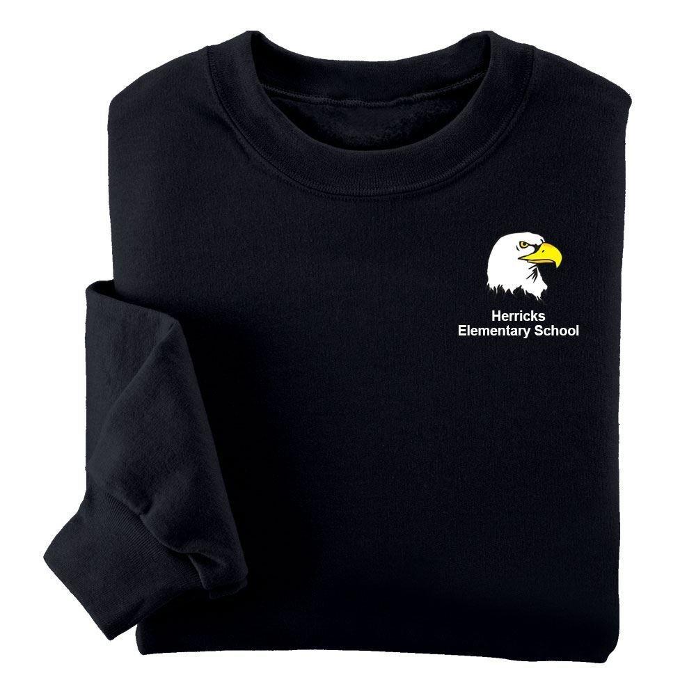 Jerzees® NuBlend Youth Crewneck Sweatshirt - Silkscreen Personalization Available