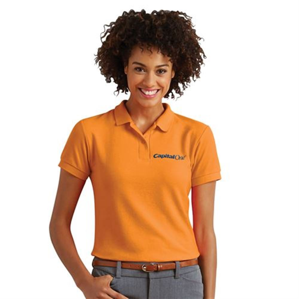 Gildan® DryBlend® Women's 6.3-oz. Double Pique Sport Shirt - Personalization Available