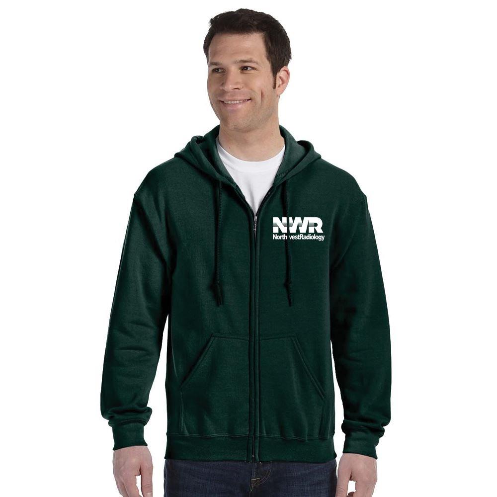Gildan® Heavy Blend® Full-Zip Hooded Sweatshirt: Premium Colors - Silkscreen Personalization Available