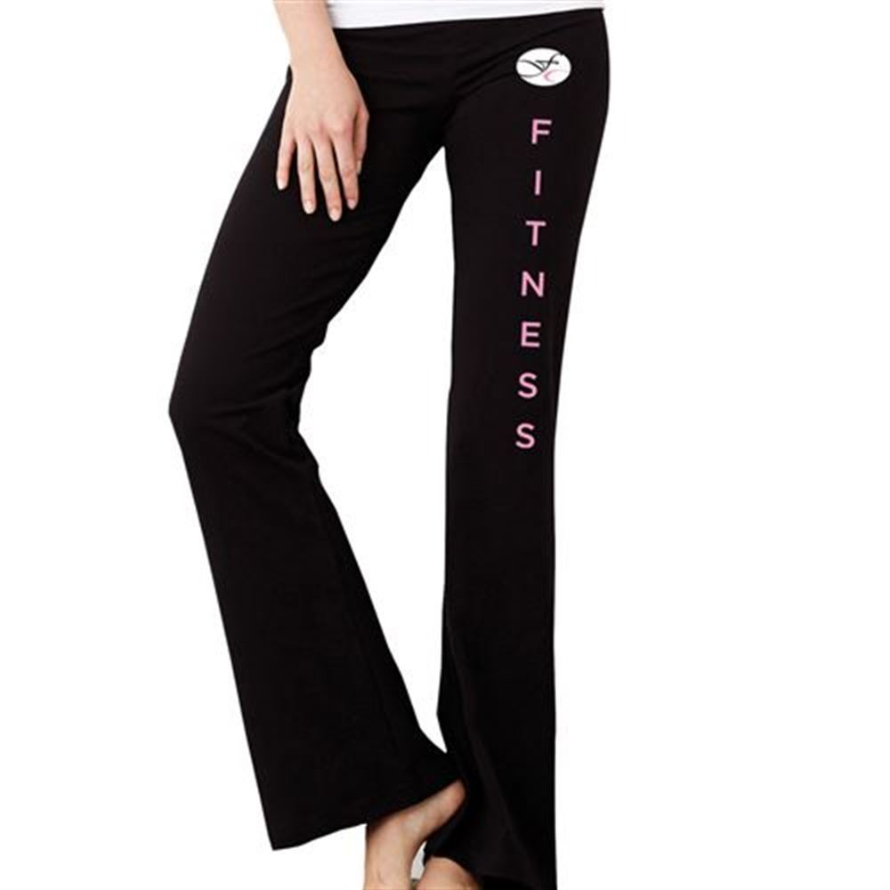 Bella + Canvas® Cotton/Spandex Fitness Pant - Silkscreen Personalization Available