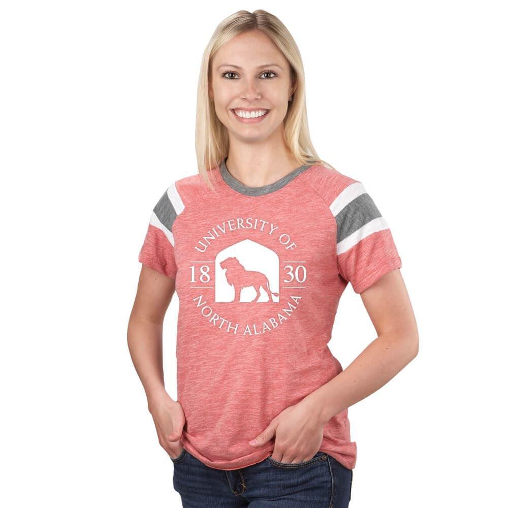 Augusta Sportswear Women's Fanatic Tee - Silkscreen Personalization Available