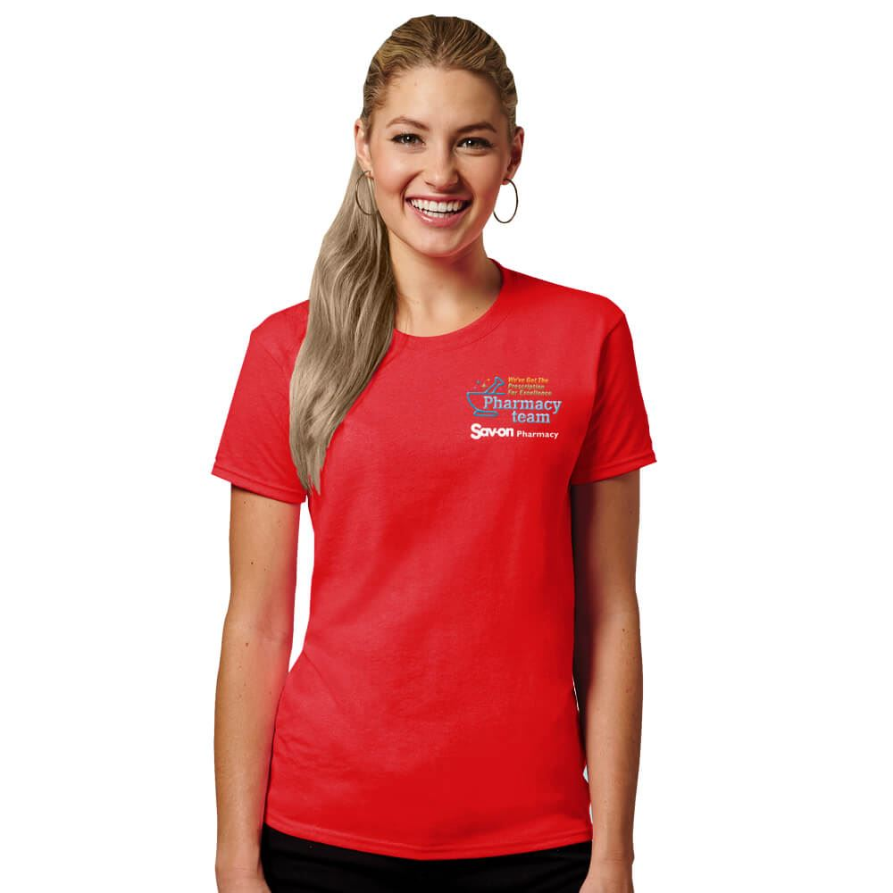 Pharmacy Team Women's Short-Sleeve 100% Cotton T-Shirt - Personalized