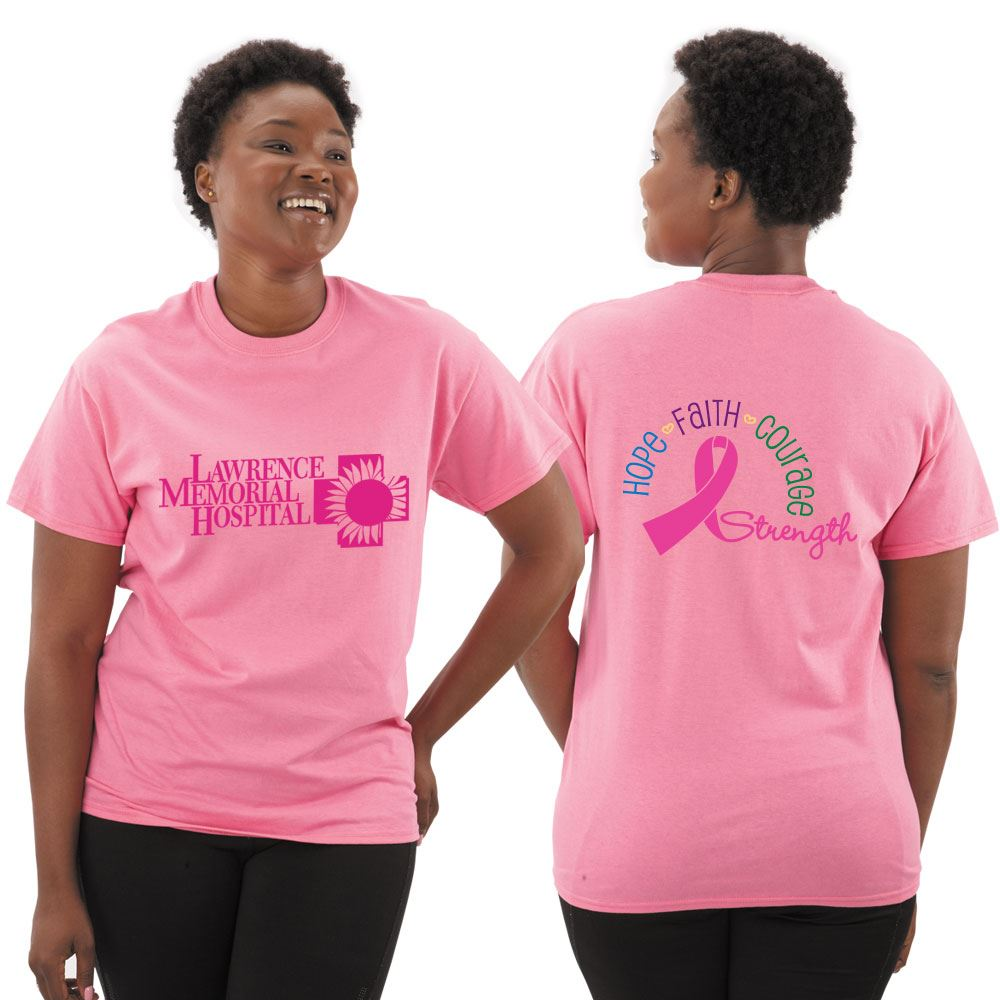 Hope Faith Courage Strength Awareness T-Shirt With Personalization