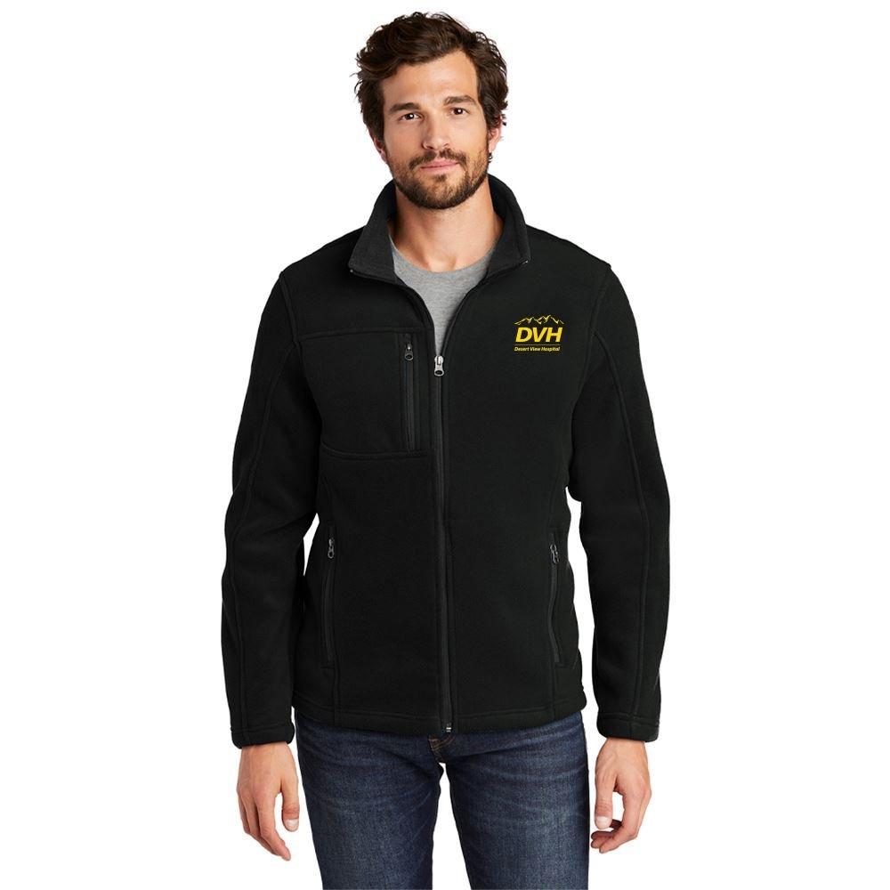 Eddie Bauer® Men's Full Zip Fleece Jacket - Personalization Available