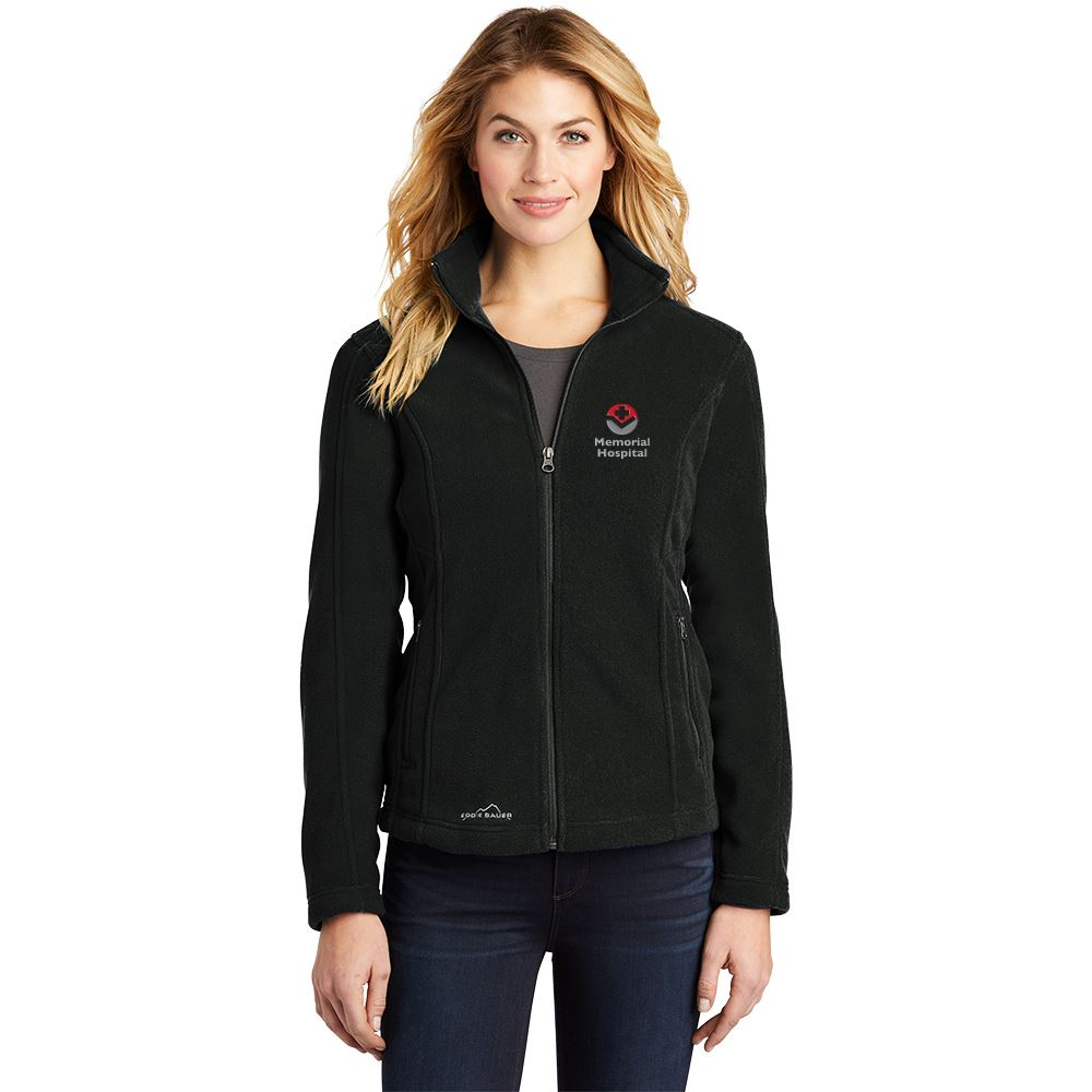 Eddie Bauer® Women's Full-Zip Fleece Jacket - Embroidered Personalization Available