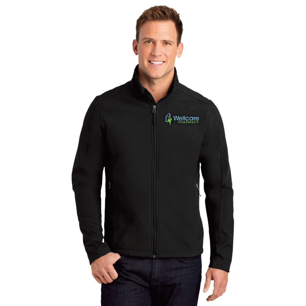 Port Authority® Men's Core Soft Shell Jacket - Embroidered Personalization Available