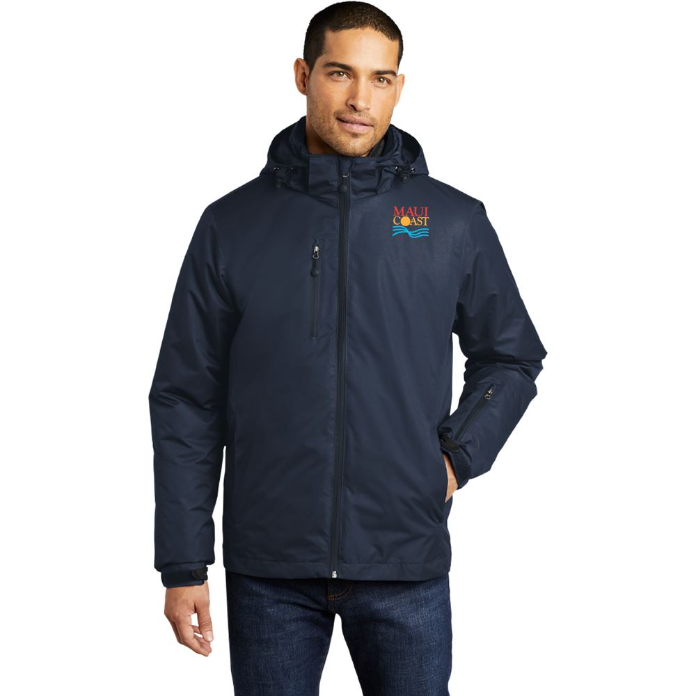 Men's Port Authority® Vortex Waterproof 3-In-1 Jacket - Embroidery Personalization Available
