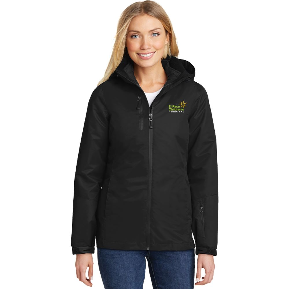 Women's Port Authority® Vortex Waterproof 3-In-1 Jacket - Embroidery Personalization Available