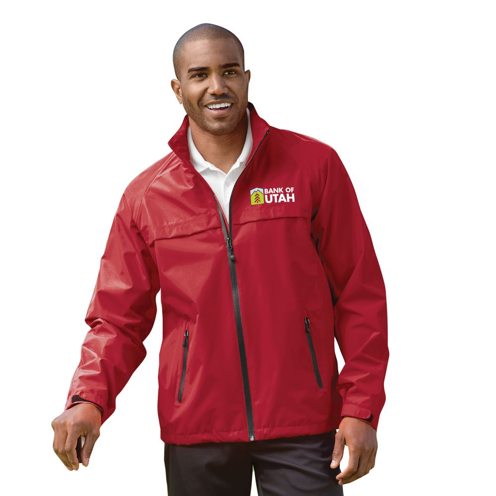 Port Authority® Men's 2-In-1 Packable Waterproof Rain Jacket With Zip Off Hood - Embroidered Personalization Available