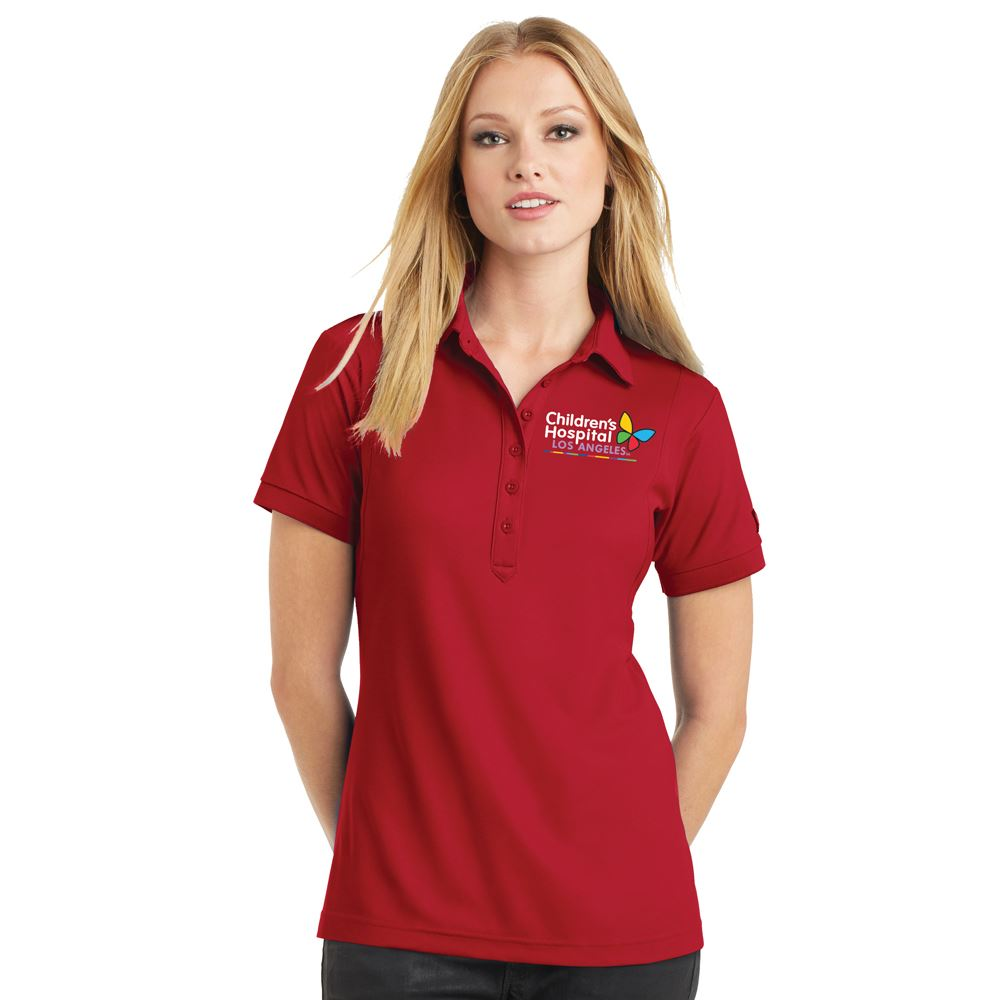 OGIO® Women's Ultimate Performance Polo - Embroidered Personalization Available