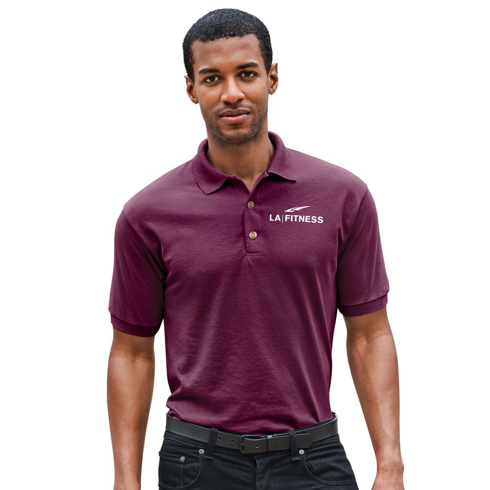 Gildan®�Unisex DryBlend 50/50 Jersey Polo: Premium Colors - Screenprinted Personalization Available