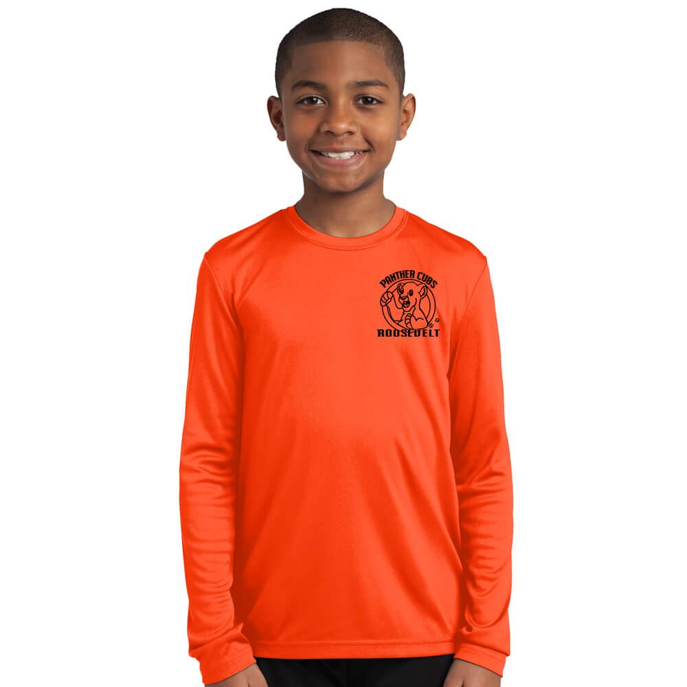 Sport-Tek® Youth Competitor Long-Sleeve T-Shirt - Personalization Available