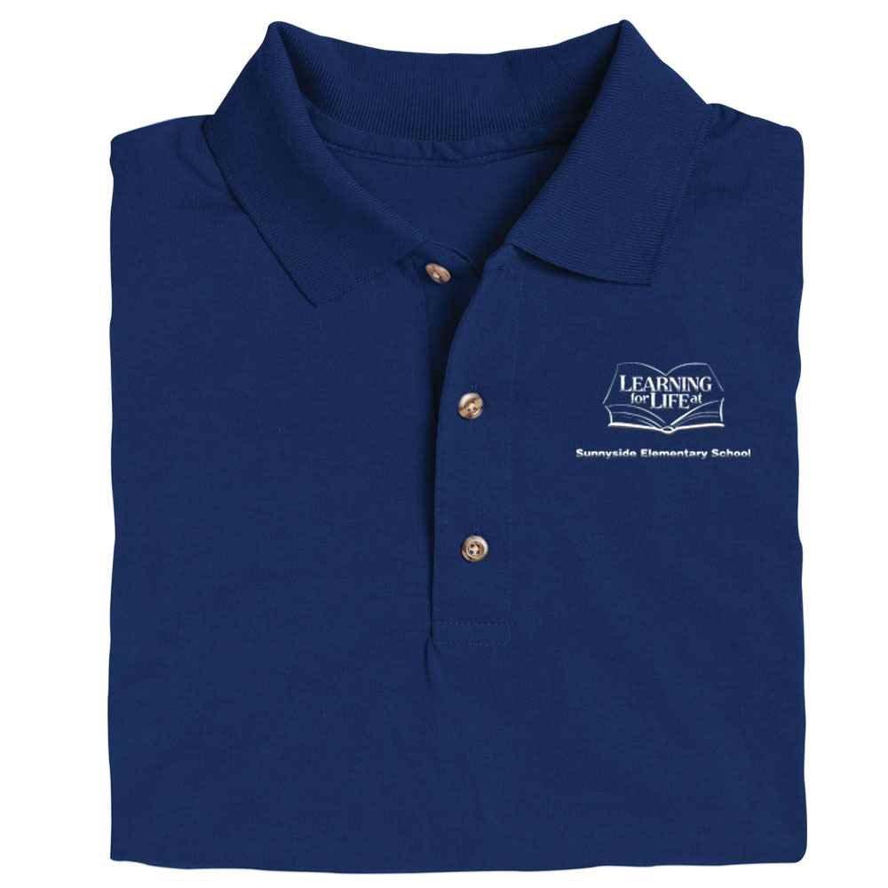 Gildan® Dryblend® Youth 6.3 oz. Double Pique Sport Shirt - Personalization Available