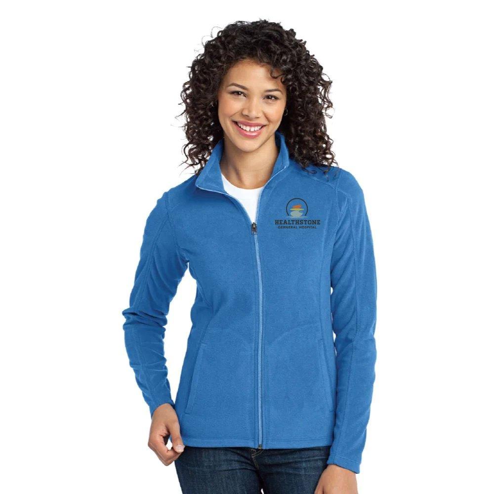 Port Authority® Women's Full-Zip Microfleece Jacket - Personalization Available