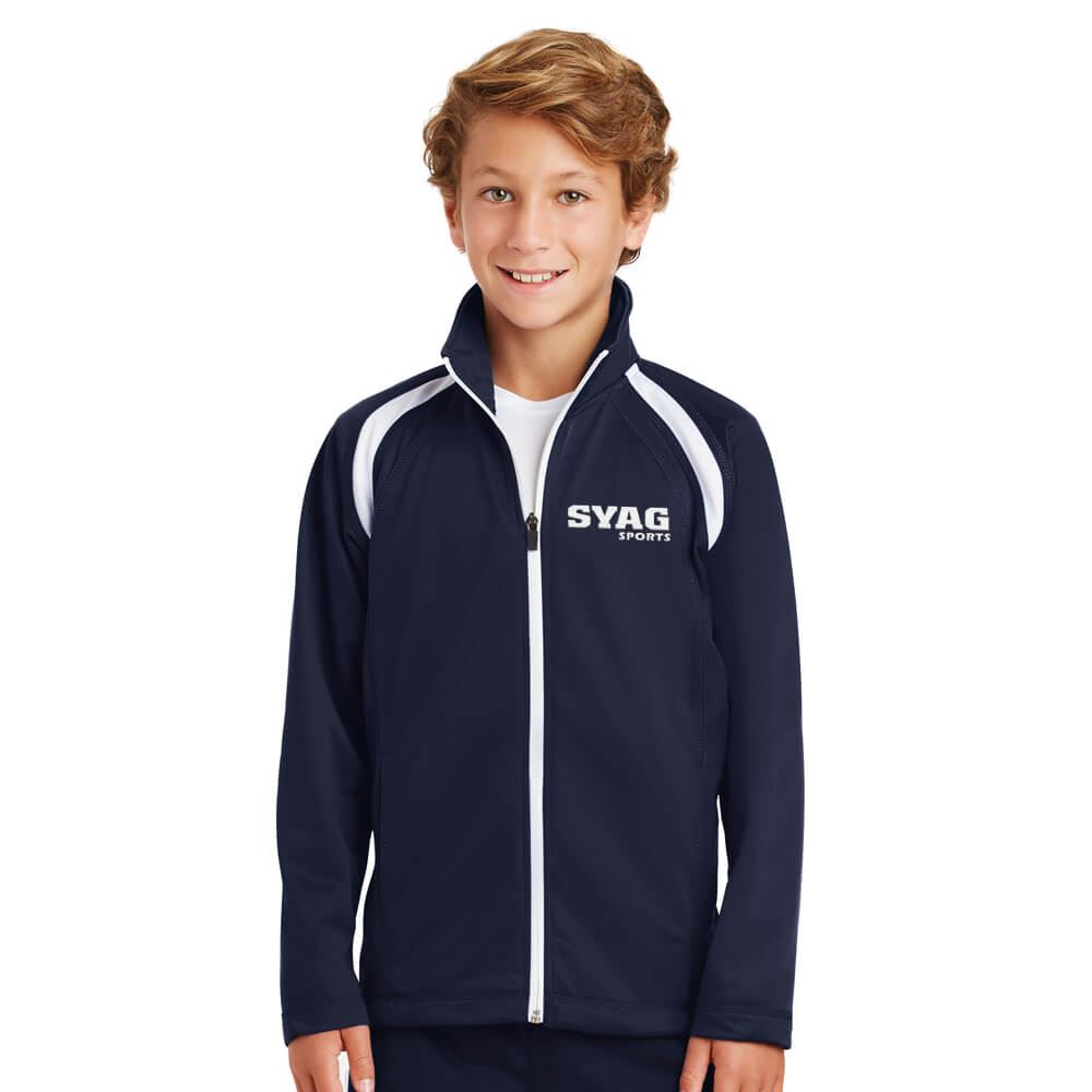 Sport-Tek® Youth Tricot Track Jacket - Personalization Available