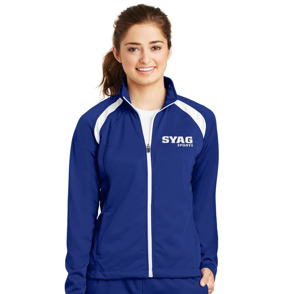 Women's Sport-Tek® Tricot Track Jacket - Personalization Available