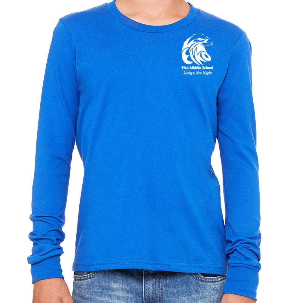 Bella + Canvas® Youth Jersey Long-Sleeve T-Shirt - Personalization Available