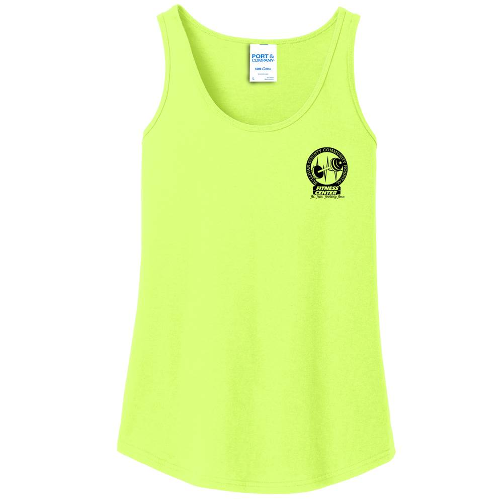 Port & Company® Women's Core Cotton Tank - Personalization Available