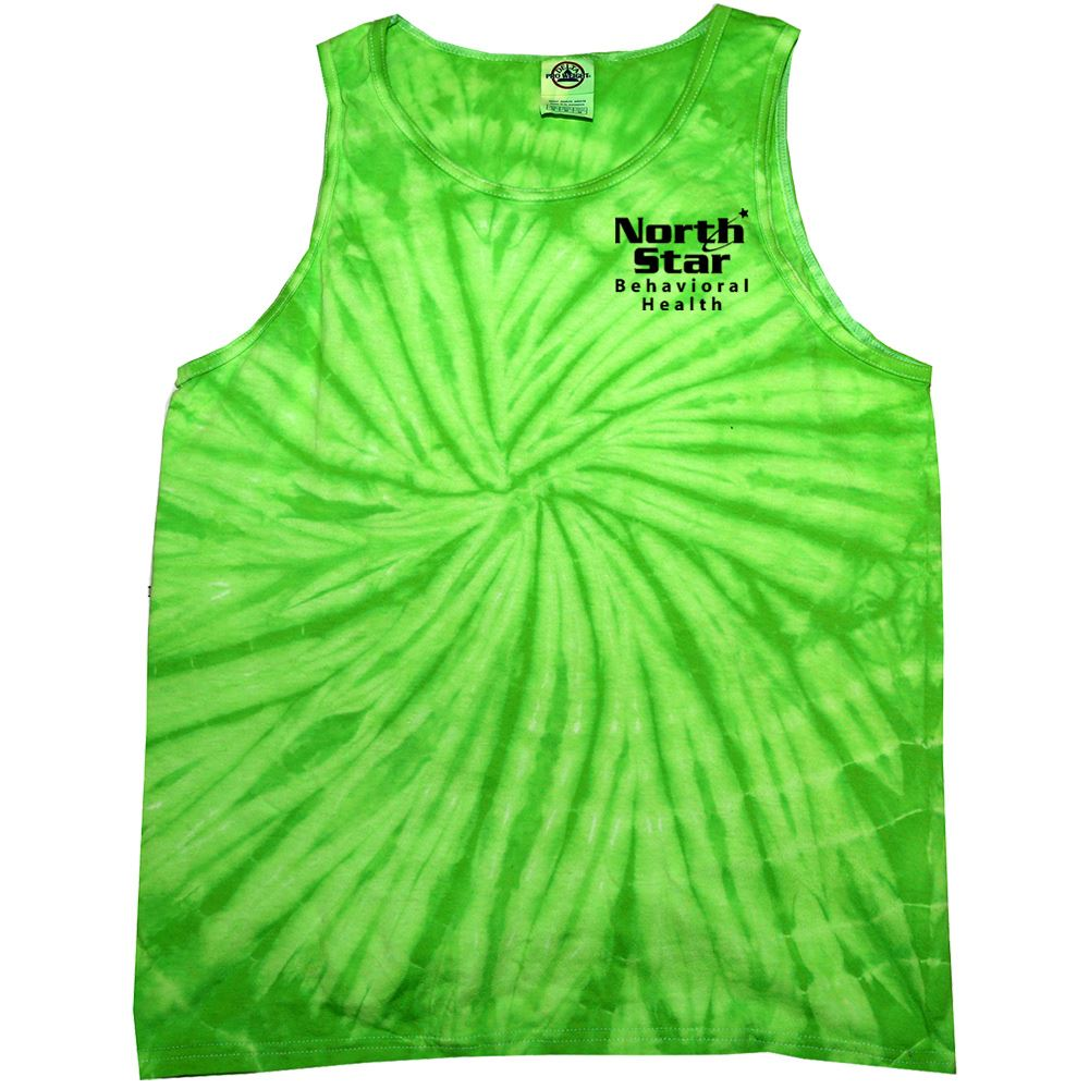 Tie-Dye Cotton Tank Unisex - Personalization Available