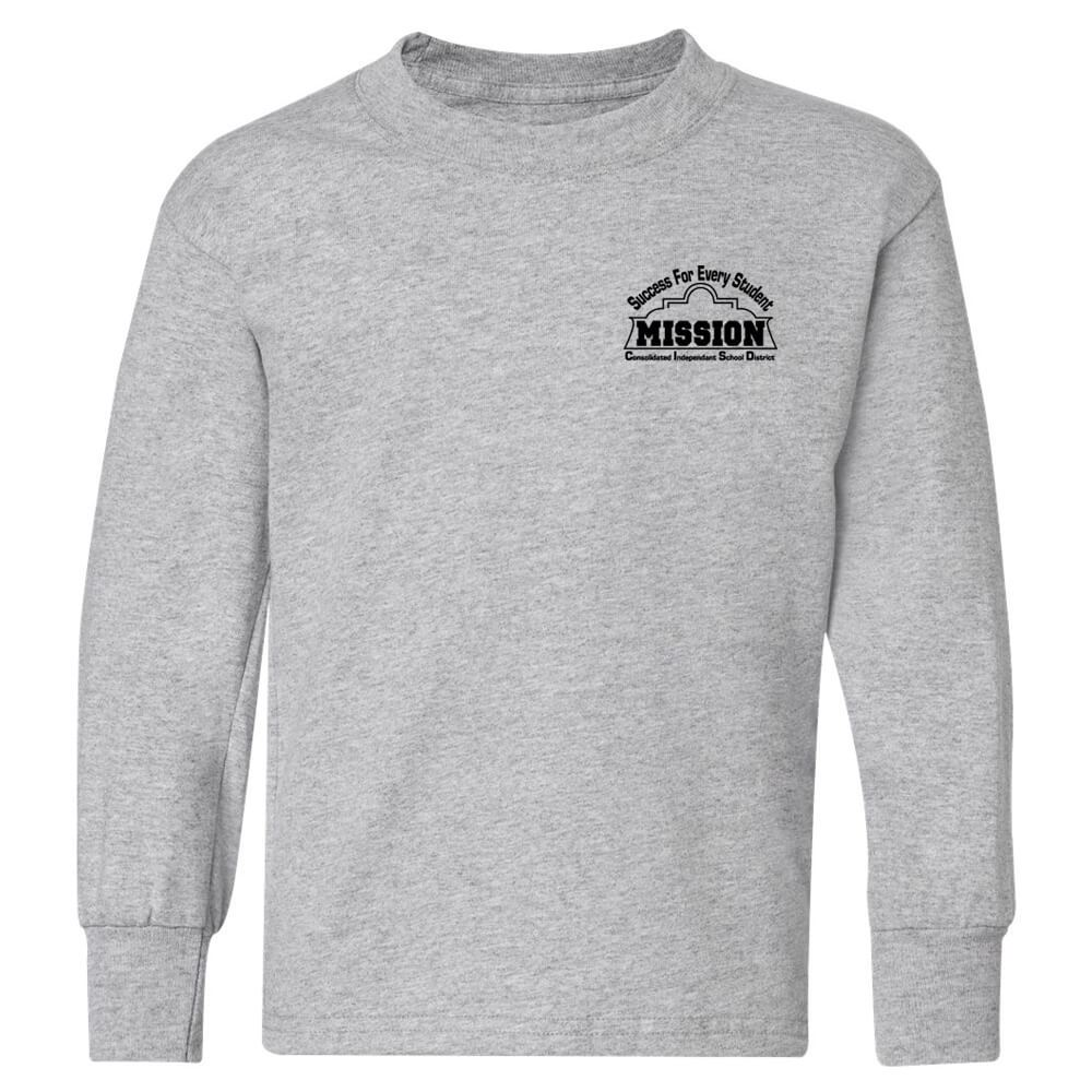Hanes® ComfortSoft® Youth Long Sleeve T-Shirt - Personalization Available