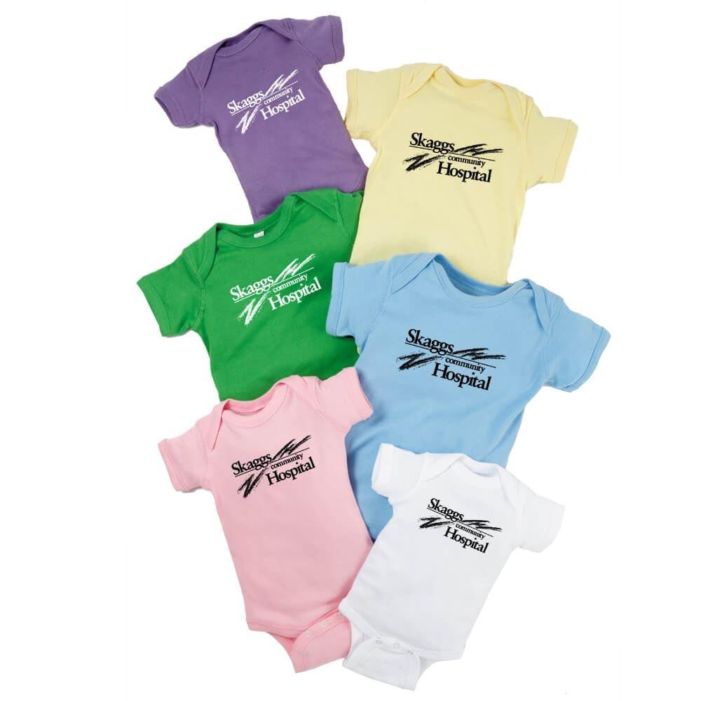 Rabbit Skins® Infant Baby Rib Bodysuit - Personalization Available