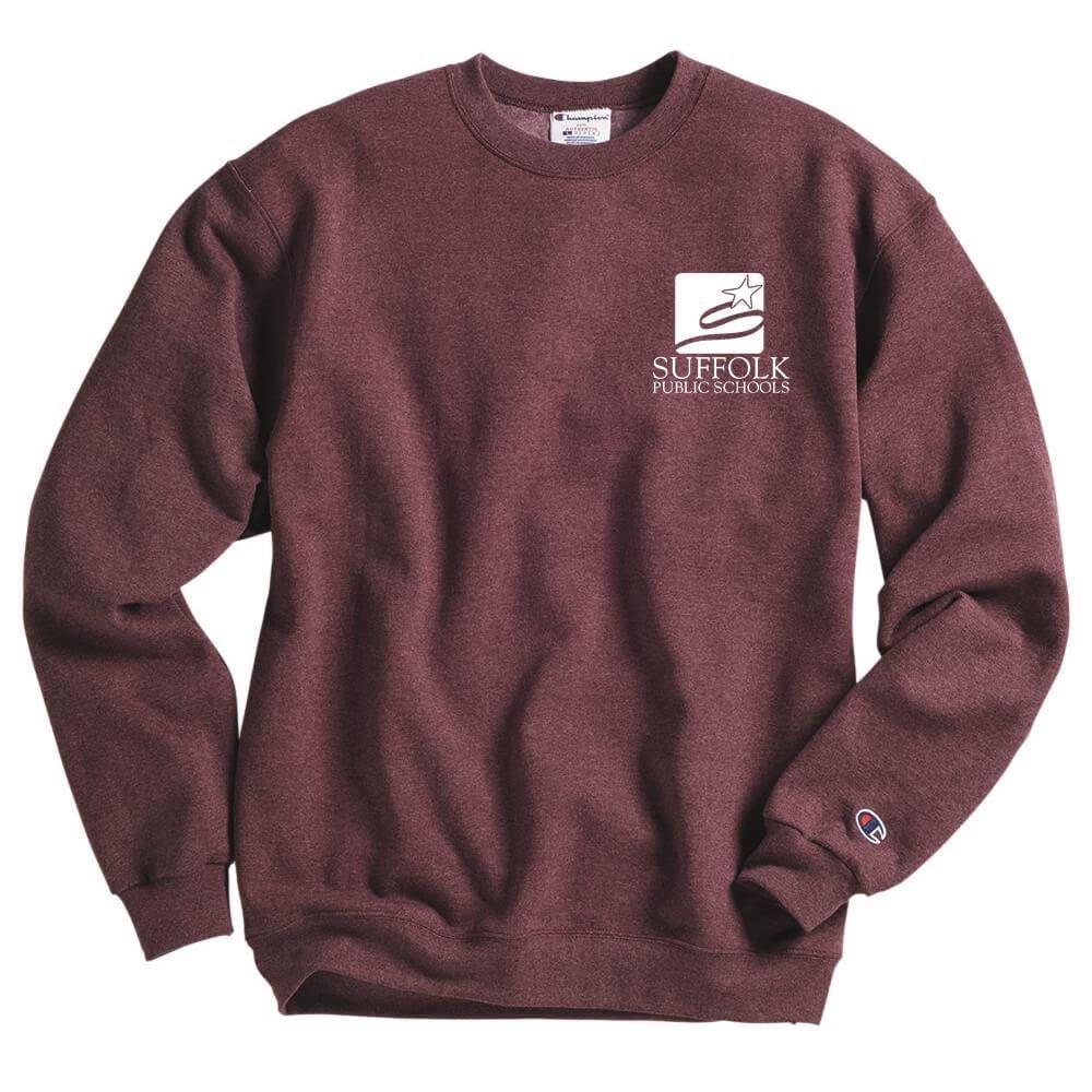 Champion® Double Dry Adult Eco Crewneck Sweatshirt - Silkscreened Personalization Available