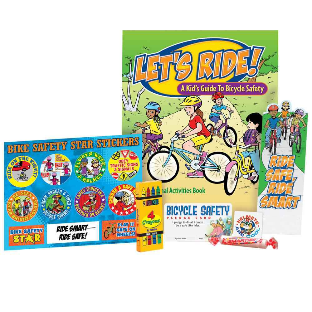 Bicycle Safety Activity Pack