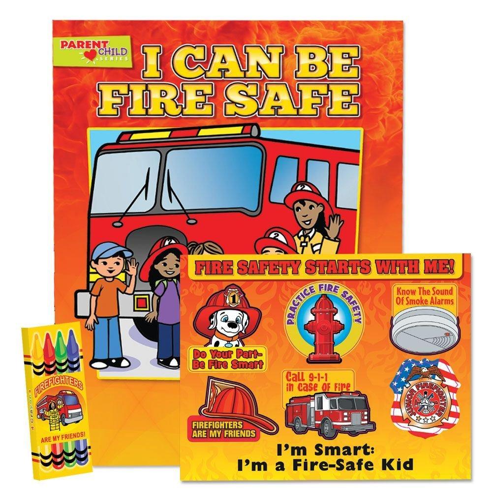 I Can Be Fire Safe Grade Pre-K Thru Kindergarten Value Kit