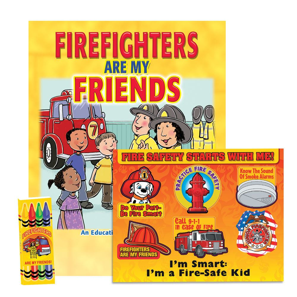I Am Smart Firefighters Are My Friends Grades 2-3 Value Kit