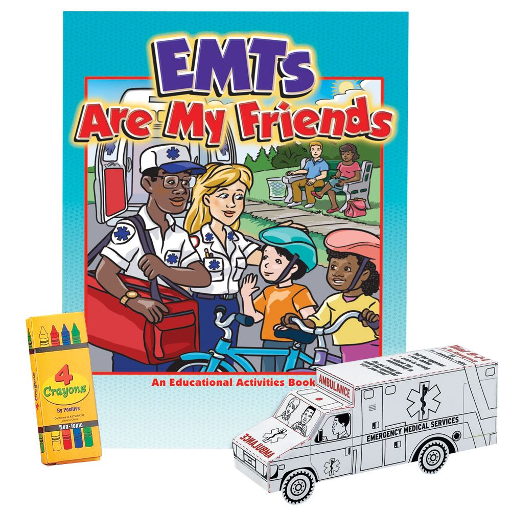 EMTs Are My Friends Grades 1-3 Value Kit