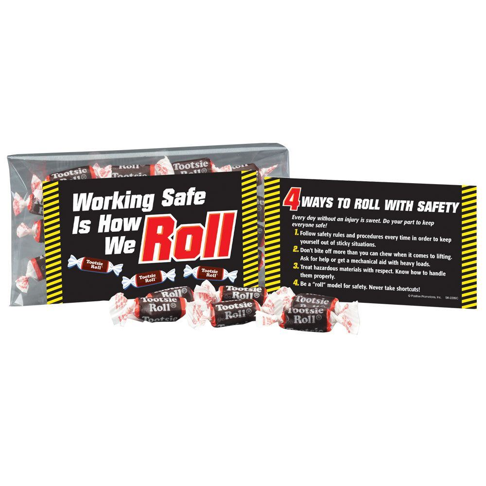 Working Safe Is How We Roll Tootsie Roll® Treat Pack