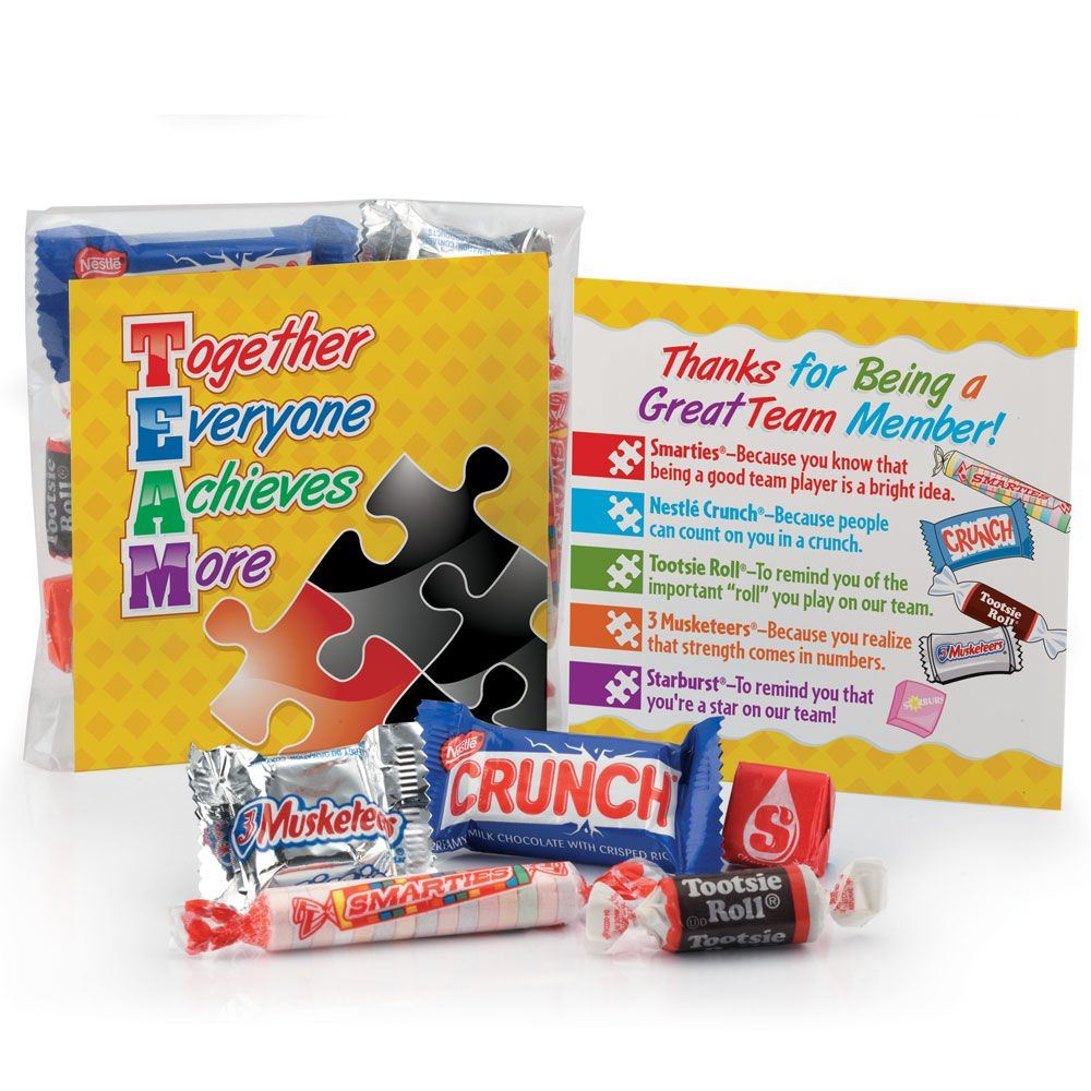 TEAM (Together Everyone Achieves More) Snack Kit