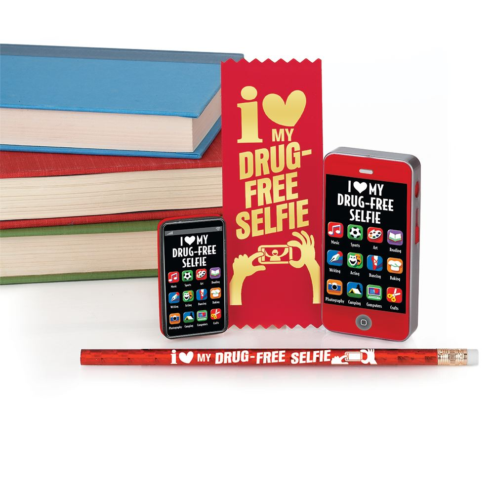 I (Heart) My Drug-Free Selfie Technology-Themed Incentive Pack