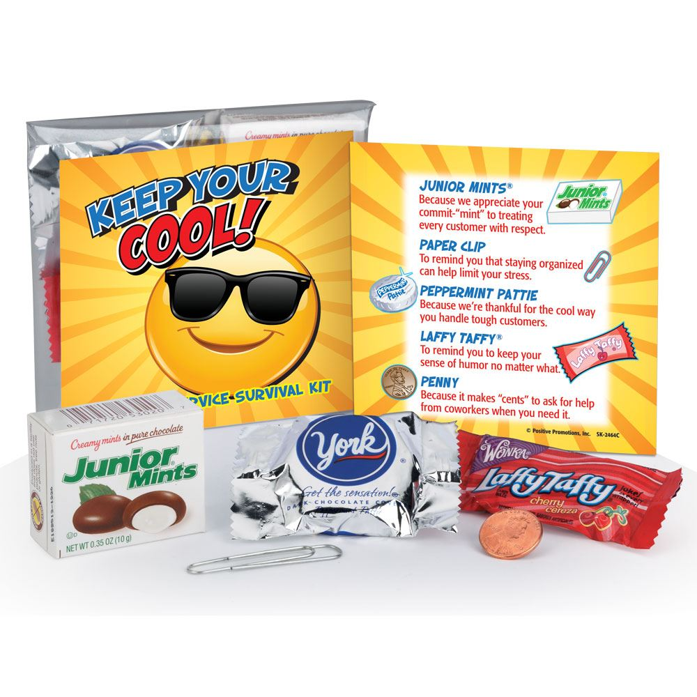 Keep Your Cool Customer Service Survival Kit   Positive ...