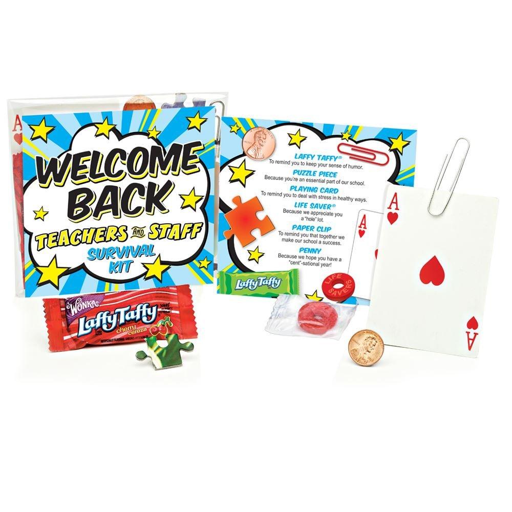 Welcome Back Teachers & Staff Survival Kit
