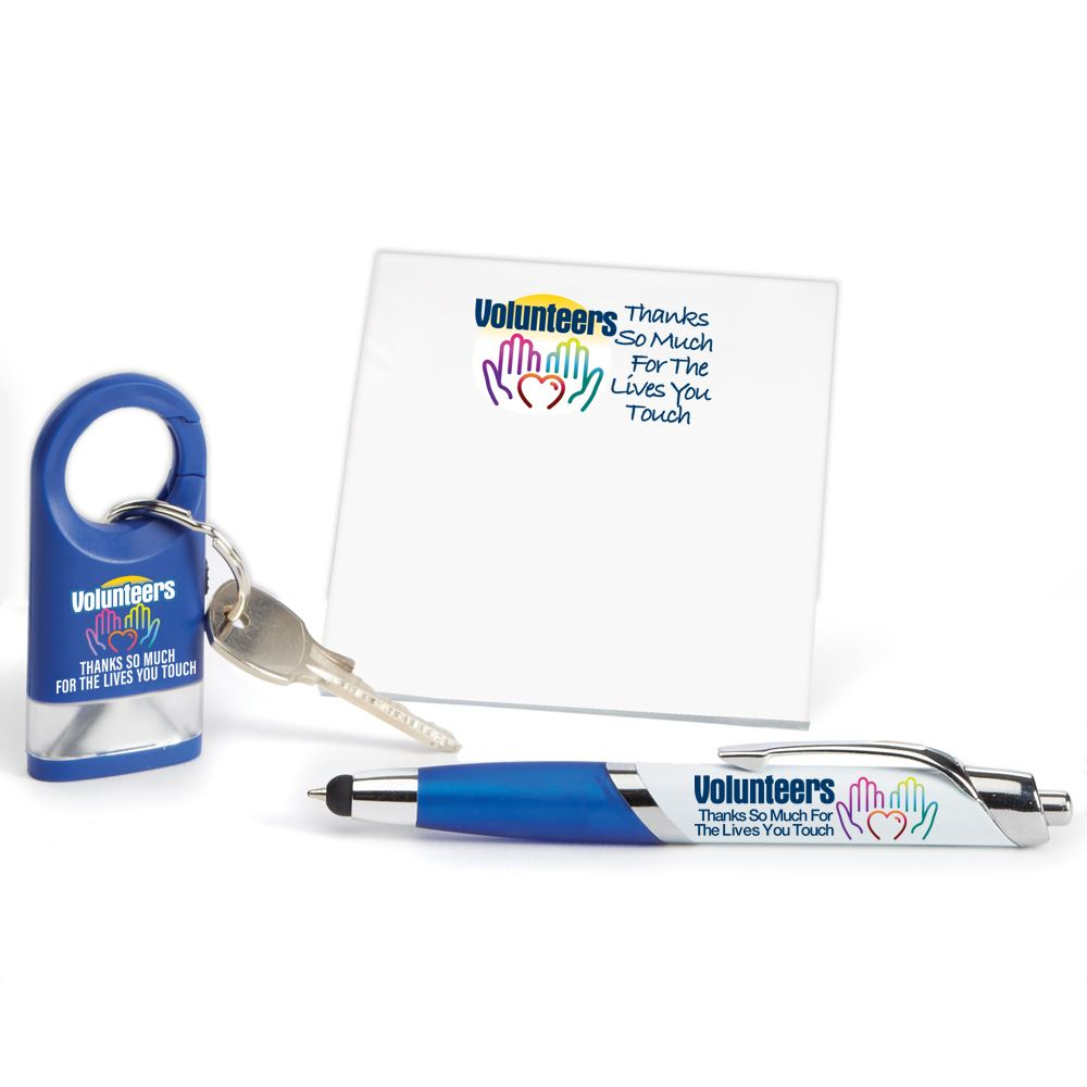 Volunteers: Thanks So Much For The Lives You Touch 3-Piece Gift Set
