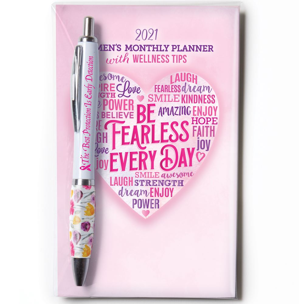 2021 Women's Monthly Planner & Pen Value Gift Sets