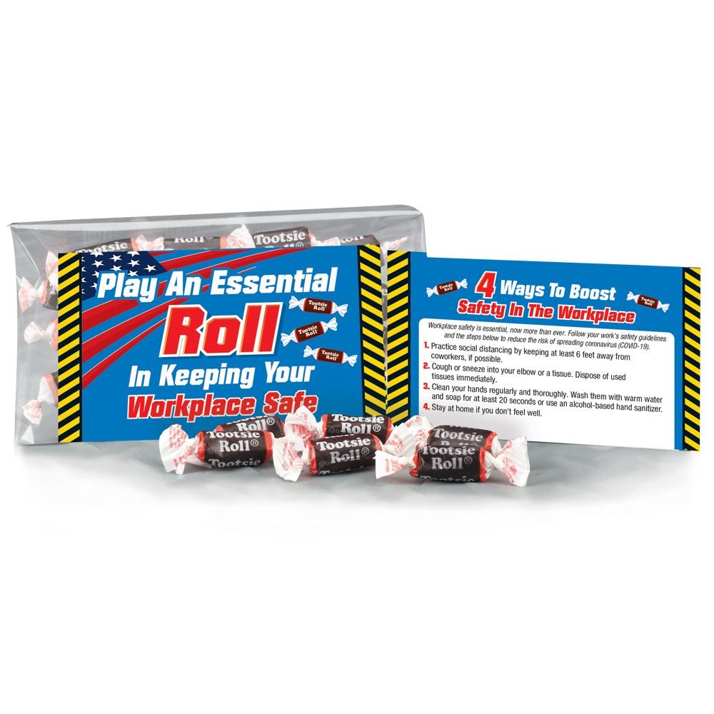 Play An Essential Roll In Keeping Your Workplace Safe Tootsie Roll® Treat Pack