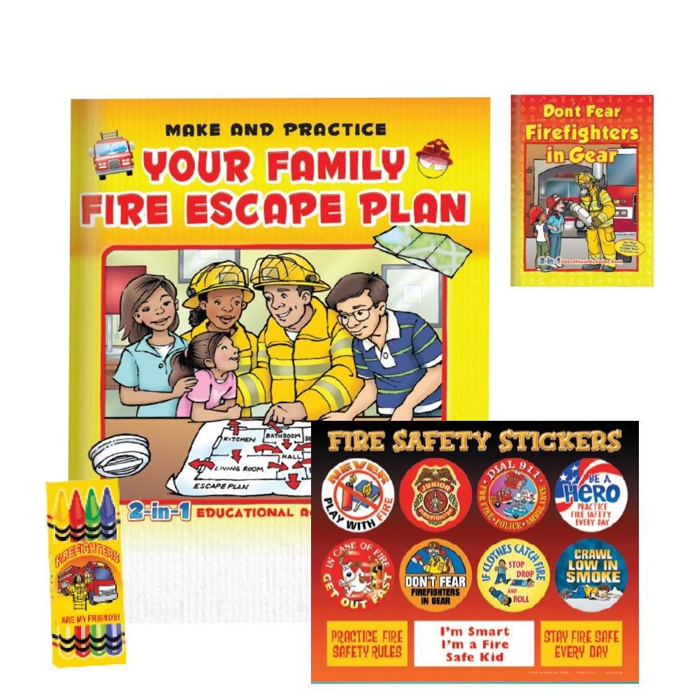 Family Fire Escape Plan Grades 3-4 Value Kit