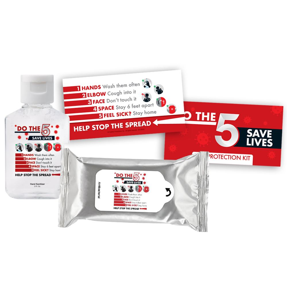 Do The 5, Save Lives Positive Message Self-Protection Kit