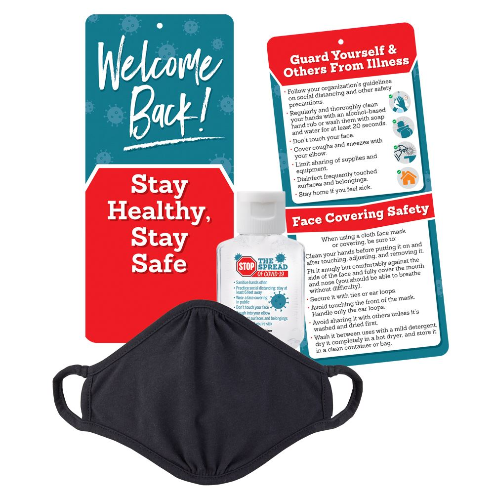 Welcome Back! Stay Healthy, Stay Safe Protective Kit