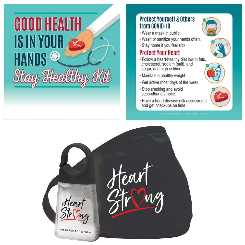 Good Health Is In Your Hands Stay Healthy Kit
