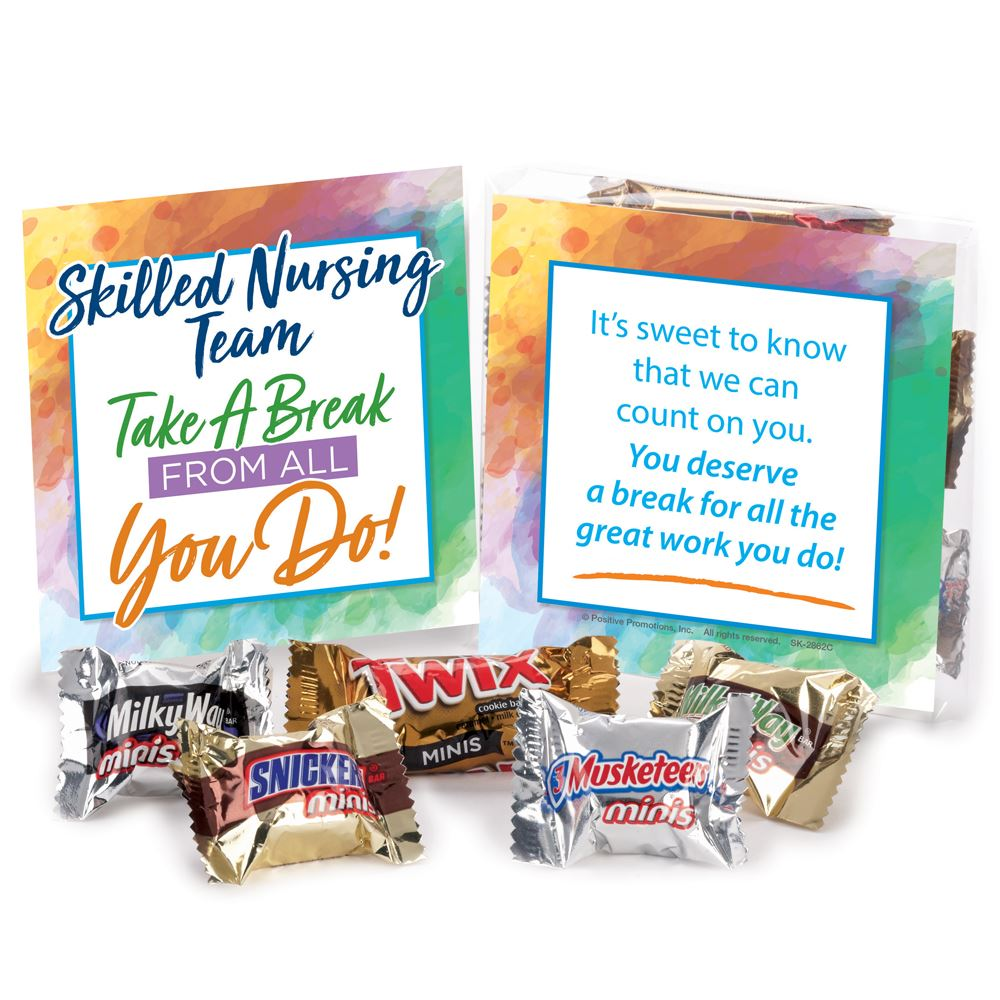 Skilled Nursing Team: Take A Break From All You Do! Treat Pack